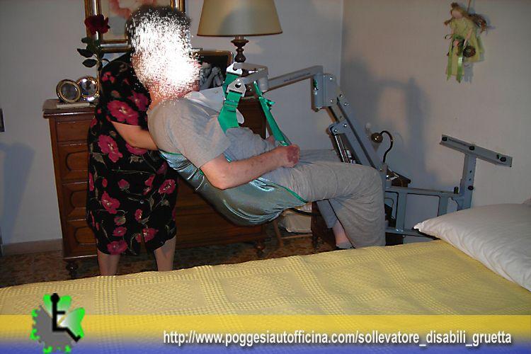 Gruetta solleva persone in abitazione a scandicci - Sollevatore letto ...